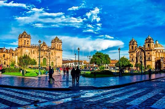 Bus turístico de Puno a Cusco Itinerario